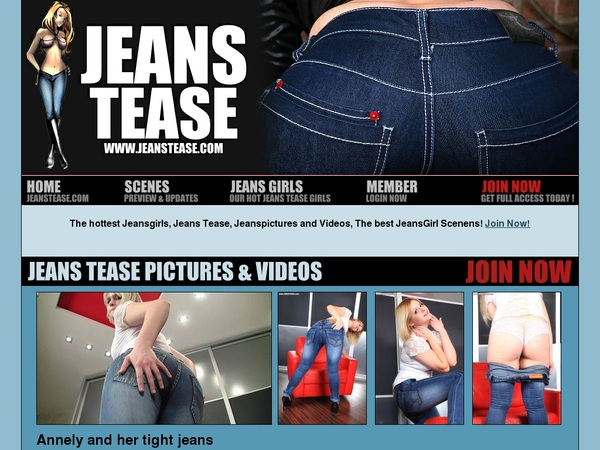 Accounts On Jeanstease.com