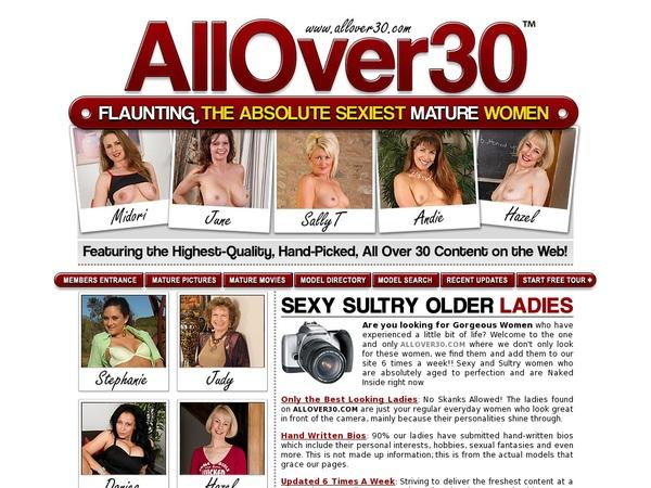All Over 30 Original 암호