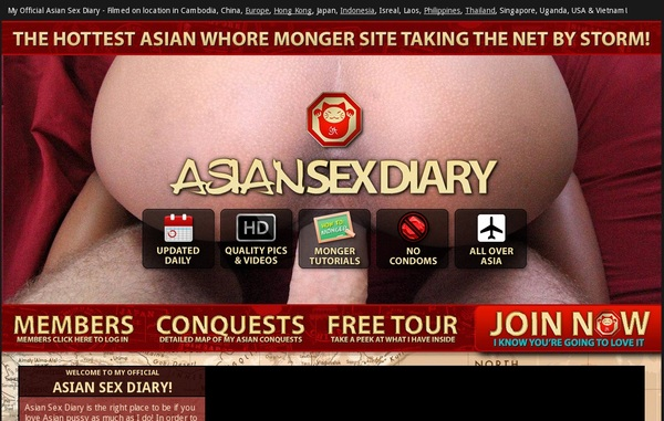 Asian Sex Diary Accounts And Password