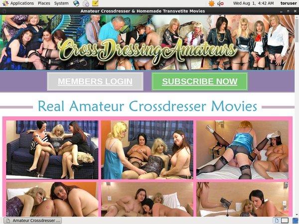 Crossdressing Amateurs Membership
