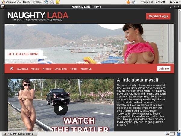 Free Naughty-lada.com Coupon