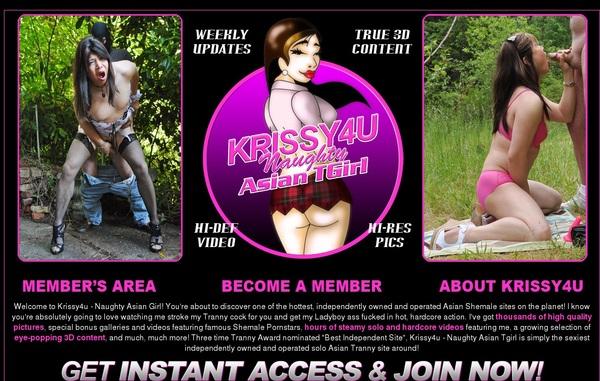 Krissy 4 U Model List