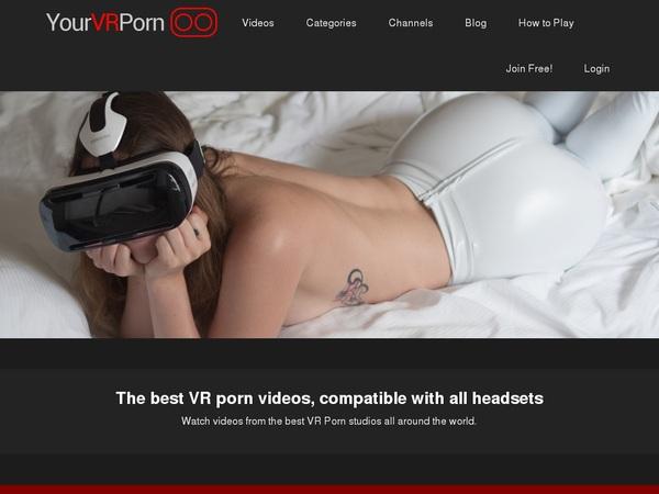 Working Yourvrporn Account