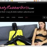 Nasty Rubber Girls Rubber Passion