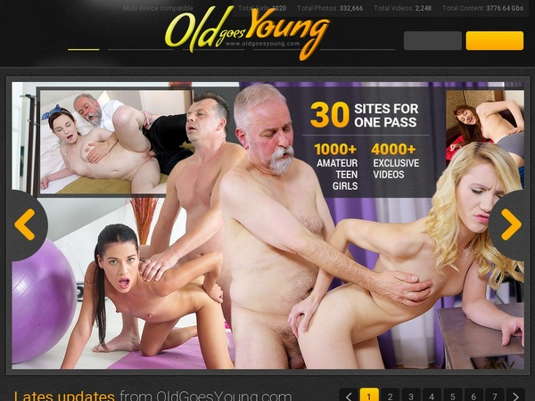 One Time Oldgoesyoung Discount