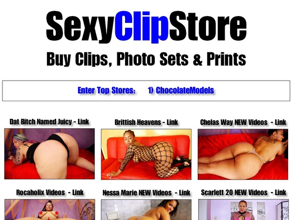 Sexy Clip Store Discount Checkout