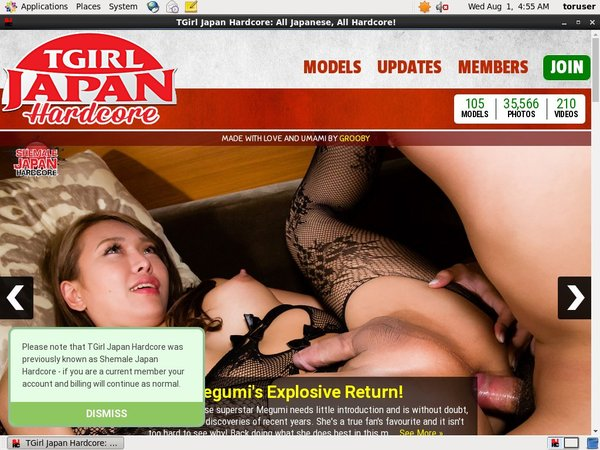 Where To Get Free Tgirljapanhardcore Account