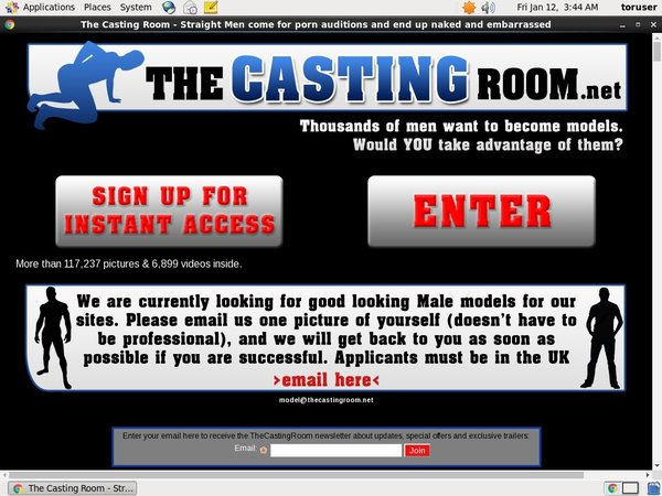 The Casting Room Special Price
