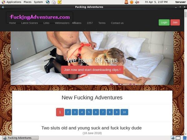 Fuckingadventures.com Without Card