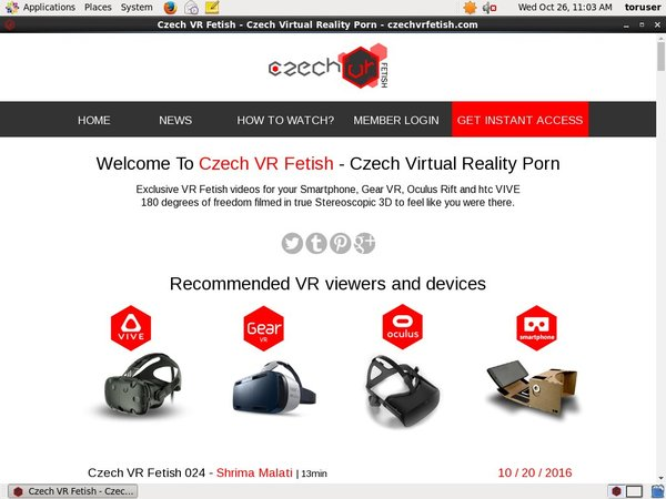 Get Into Czech VR Fetish Free