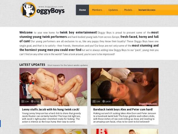 Doggy Boys Using Pay Pal