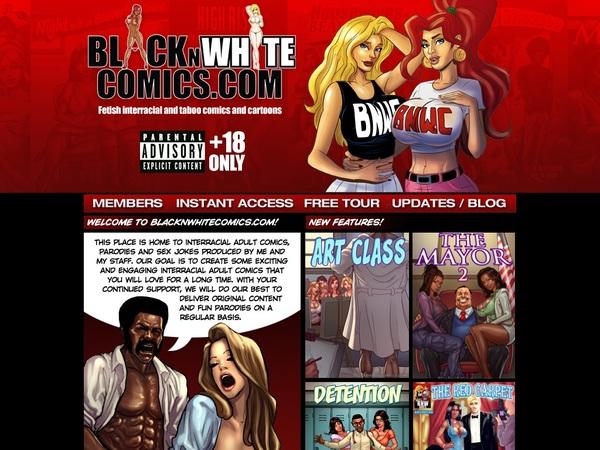 Black N White Comics Passworter