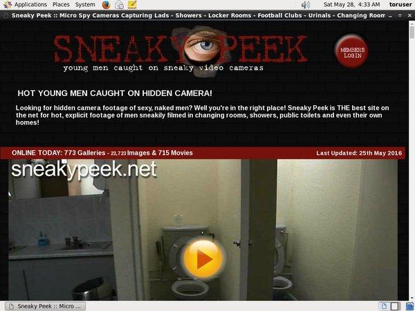 Free Sneakypeek.net Id